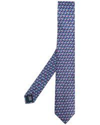 Lanvin | Patterned Tie | Lyst