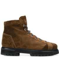 Santoni - Hiking Boots - Lyst