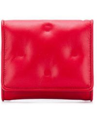 Maison Margiela - Quilted Logo Wallet - Lyst