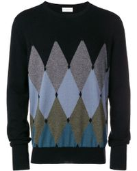 Ballantyne - Argyle Sweater - Lyst
