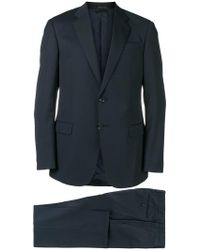 Giorgio Armani - Two Piece Fitted Suit - Lyst
