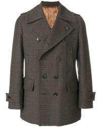 Gabriele Pasini - Double Breasted Coat - Lyst