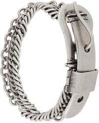 Maison Margiela - Buckle Chain Bracelet - Lyst