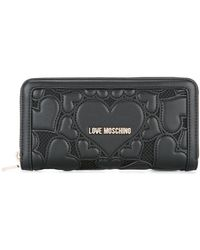Love Moschino - Hearts Wallet - Lyst