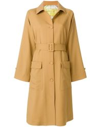 Golden Goose Deluxe Brand - Flared Trench Coat - Lyst