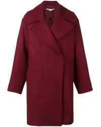 Stella McCartney - Double Breasted Coat - Lyst
