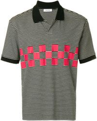 Tim Coppens - Striped Polo Shirt - Lyst