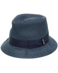Borsalino - Bow Detail Hat - Lyst
