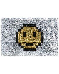 Anya Hindmarch 'pixel Smiley' Clutch
