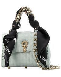 Ermanno Scervino - Faubourg Bag With Scarf And Chain - Lyst