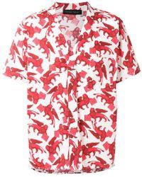 Christian Pellizzari - St Leone Of Venice Printed Shirt - Lyst
