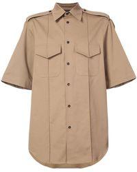 Yang Li - Military Style Shirt - Lyst