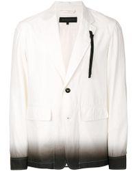 Ann Demeulemeester Grise - Gradient Shirt Jacket - Lyst