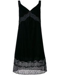 Pinko - Cassetto Lace Trim Dress - Lyst