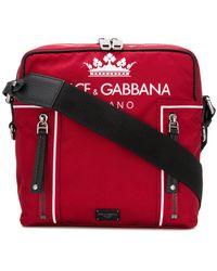 0343ee630460 Dolce   Gabbana - Logo Shoulder Bag - Lyst