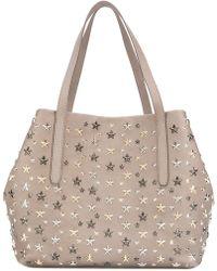Jimmy Choo - Sofia Medium Shopping Bag - Lyst