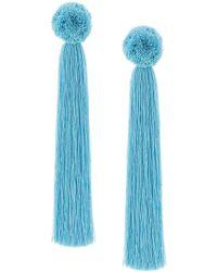 Yuliya Magdych - Oversized Tassel Earrings - Lyst