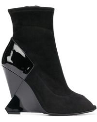 Lanvin - Wedge Boots - Lyst