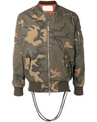 Stampd - Military Printed Bomber Jacket - Lyst