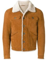 DSquared² - Shearling Jacket - Lyst