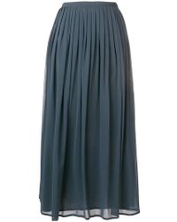 Fabiana Filippi - Flared Midi Skirt - Lyst