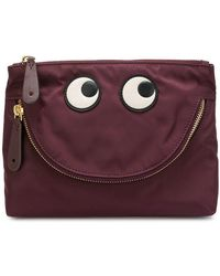 Anya Hindmarch - Happpy Eyes Make-up Bag - Lyst