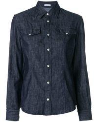 Tomas Maier - Light Denim Shirt - Lyst