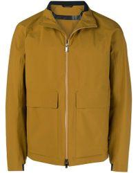 Z Zegna - Oversized Pockets Zipped Jacket - Lyst