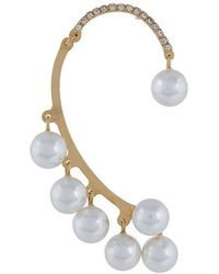 DSquared² - Pearl-embellished Ear-cuff - Lyst