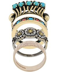 Iosselliani - Elegua Set Of Rings - Lyst