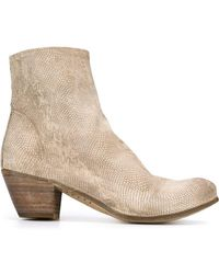 Officine Creative - Chabrol Leather Ankle Boots - Lyst