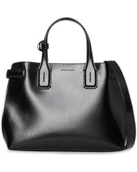 Lyst - Burberry The Medium Banner In Two-tone Leather in Pink 06b29a74e7