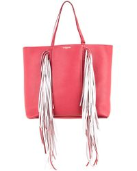 Sara Battaglia - Fringed Shopping Bag - Lyst