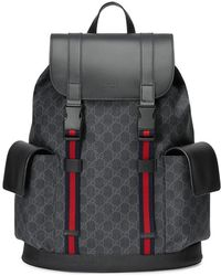 8002925b72e956 Gucci Large Backpack in Blue for Men - Lyst