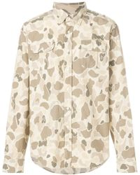 Gant | Camouflage Print Shirt | Lyst