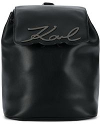 Karl Lagerfeld - K/signature Backpack - Lyst