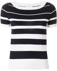 Snobby Sheep - Striped T-shirt - Lyst