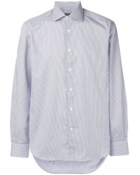 Corneliani - Stripe Long-sleeve Shirt - Lyst