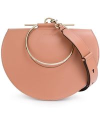Ferragamo Medium Aileen Python Bag - Lyst 65eee120fe927