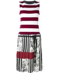I'm Isola Marras - Striped Dress - Lyst