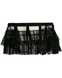 Chantal Thomass - Ruffled Tulle Belt - Lyst