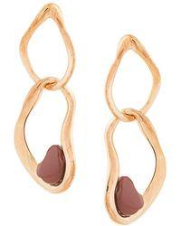 Ileana Makri - Stone Drop Earring - Lyst