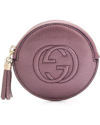 Gucci Portemonnaie à logo GG embossé