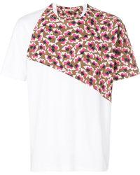 Marni - Geometric Panel T-shirt - Lyst