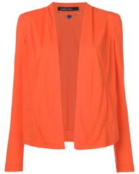 Marc Cain - Fitted Collarless Blazer - Lyst