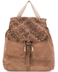 Eleventy - Weave-detail Backpack - Lyst