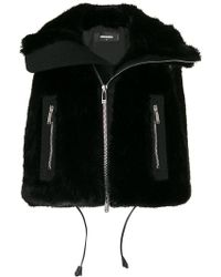 DSquared² - Cropped Gilet - Lyst