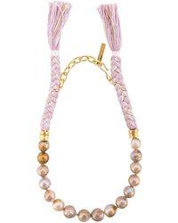 Lizzie Fortunato - Corsica Collar Necklace - Lyst