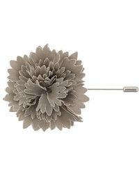 Lanvin - Textured Flower Brooch - Lyst