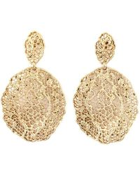Aurelie Bidermann - 'vintage Lace' Earrings - Lyst